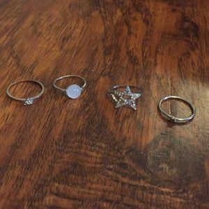 Jewelry - Silver ring set